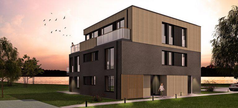 Kaufangebot Globalobjekt Euro 3,27 Mio bei Berlin: Neubau mit 10 Wohnungen als Kapitalanlage